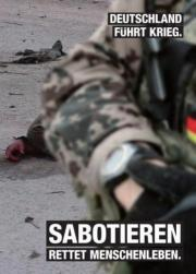 Bundeswehrauftritt stören!